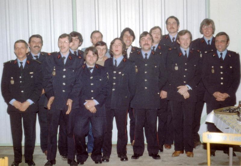 Fig.12. Le groupe des pompiers (Photo C. Saunier).