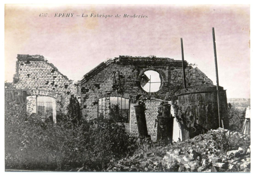 Fig.13. Ruines des Broderies Colombier.