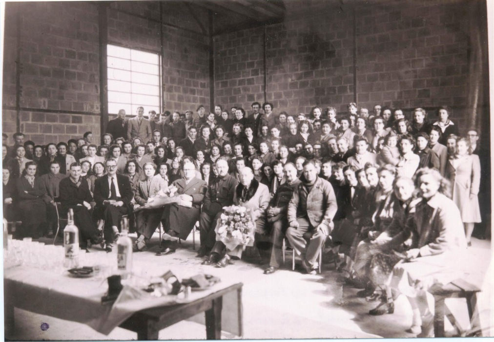 Fig. 21. Le personnel de l'usine en 1952 (Coll. C. Saunier).